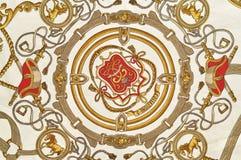 Текстура ткани сбора винограда Стоковые Изображения RF