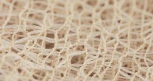 Текстура ткани сетки акции видеоматериалы