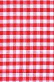 Текстура ткани скатерти. Стоковое Фото