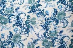 Текстура ткани с картиной Стоковое Изображение