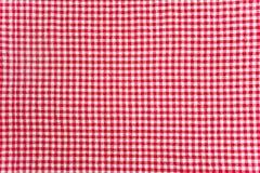 Текстура ткани таблицы Стоковая Фотография RF