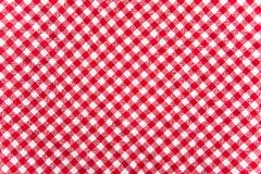 Текстура ткани таблицы Стоковые Фотографии RF