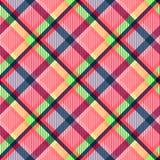 Текстура ткани тартана картина безшовная иллюстрация штока