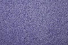 Текстура ткани фиолетового полотенца Стоковое Изображение RF