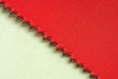 Текстура ткани холста ткани Стоковая Фотография