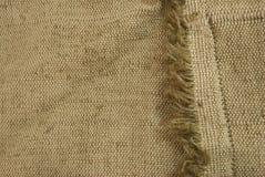 текстура ткани холстины Стоковая Фотография