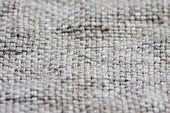 Текстура ткани холста Стоковая Фотография RF
