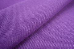 Текстура ткани хлопка Стоковая Фотография