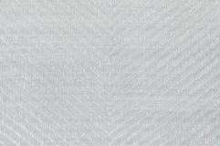 Текстура ткани цвета крупного плана белая Стоковые Изображения RF