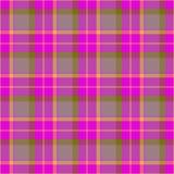 Текстура ткани цвета тартана Стоковые Фото