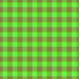 Текстура ткани цвета тартана Стоковое фото RF