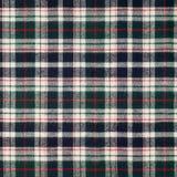 текстура ткани шотландки Стоковое Фото