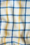 Текстура ткани, chequered картина Стоковое Фото
