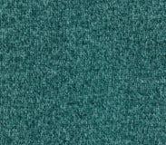 Текстура ткани Cyan цвета вязать Стоковые Изображения RF
