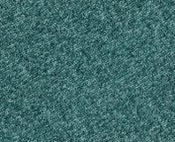 Текстура ткани Cyan цвета вязать Стоковая Фотография RF