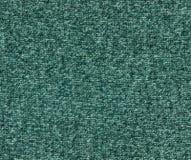 Текстура ткани Cyan цвета вязать Стоковая Фотография