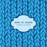 Текстура ткани sewater knit вектора горизонтальная Стоковая Фотография