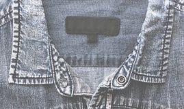 текстура тканья джинсыов карманная Стоковая Фотография RF
