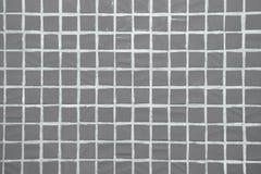 Текстура точной маленькой предпосылки керамических плиток Стоковая Фотография