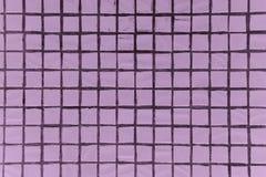 Текстура точной маленькой предпосылки керамических плиток Стоковое Фото
