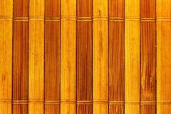 Текстура традиционной естественной соломы плетеная, пакостный выдержанный желтый цвет Стоковые Изображения