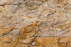 Текстура треснутая утесом Стоковая Фотография RF