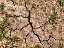 Текстура треснутой грязи Стоковое Фото