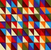 Текстура треугольников. Стоковое Изображение