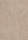 Сморщенная linen текстура Стоковые Фотографии RF