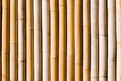 текстура украшения Азии зодчества bamboo Стоковая Фотография