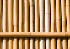 текстура украшения Азии зодчества bamboo Стоковое Изображение RF
