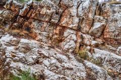 Текстура утеса Большие утесы exfoliate от утеса Стоковая Фотография RF