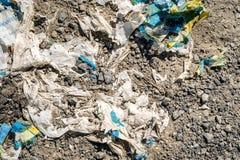 Текстура утеса и грязи Plasctic Стоковое Фото