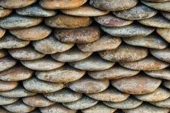 текстура утеса предпосылки близкая вверх по стене Стоковое Изображение