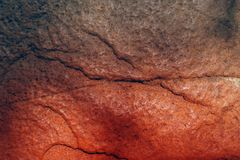 Текстура утеса цвета стоковая фотография rf