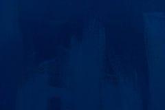 Текстура утюга покрашенная в сини абстрактной покрашенная щеткой реальная текстура ходов к трассировано была Стоковая Фотография RF