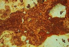текстура утюга предпосылки ржавая Стоковая Фотография RF