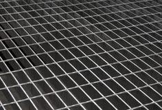 текстура утюга решетки Стоковая Фотография