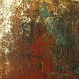 текстура утюга ржавая Стоковое Изображение