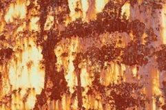текстура утюга ржавая Стоковая Фотография