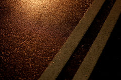 Текстура улицы или асфальта дороги Стоковая Фотография