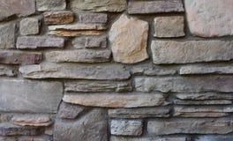 Текстура фона каменной стены Стоковая Фотография