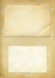 текстура фото предпосылки старая бумажная Стоковые Фотографии RF