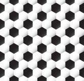текстура футбола шарика Стоковые Фотографии RF
