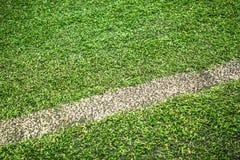 Текстура футбольного поля Стоковые Фотографии RF