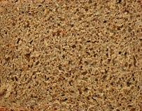 Текстура хлеба рож Стоковое Фото