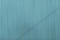 Текстура цвета бирюзы рифлёная поверхностных железных лист Стоковое Фото