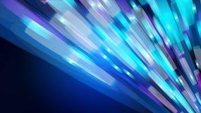 Текстура цвета красивой абстрактной сини накаляя сияющая запачканная с влиянием bokeh от кругов и линий зелень gentile предпосылк иллюстрация вектора
