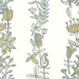 текстура цветка безшовная Бесконечная флористическая картина Смогите быть использовано для обоев Стоковое Фото