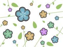 текстура цветка Стоковые Изображения